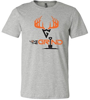 Love The Grind Ultra Soft Short Sleeve Tee