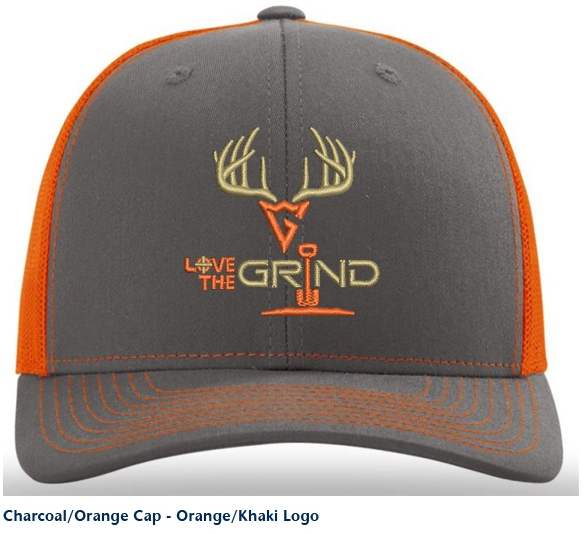 Love The Grind Trucker Hats